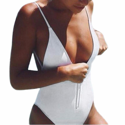 K Style One-Piece Swimsuit