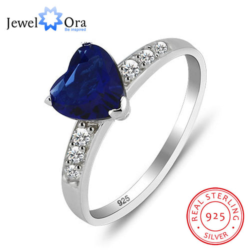 Sapphire Love Stone Promise Ring