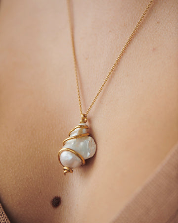 Svetlana Necklace Gold