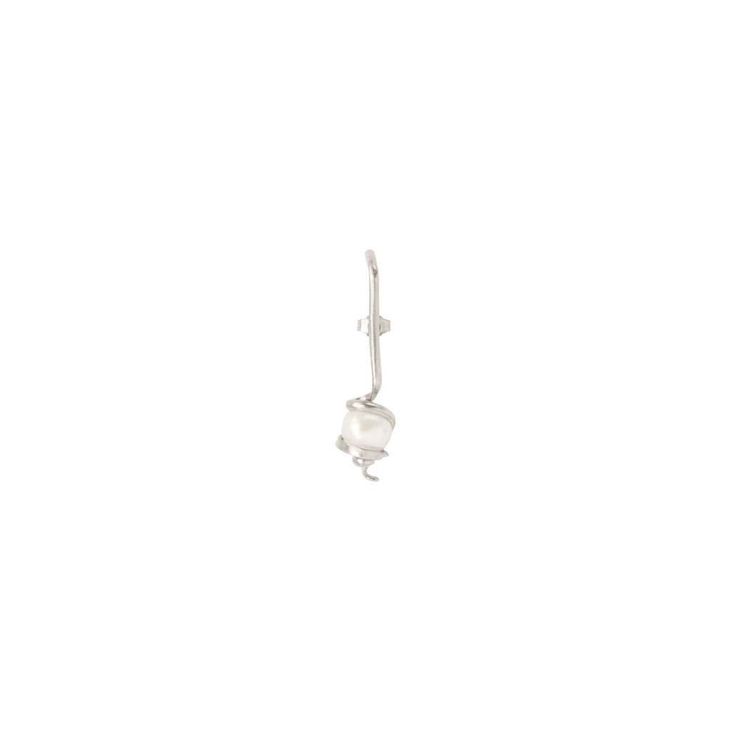 Vaslav Earpiece Silver
