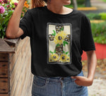 Sunflower Cross T-Shirt - Adult-eretailshirt, Gift-Shop-Wholesale-Womens-Boutique-Custom-Graphic-Tees-Branding-Gifts