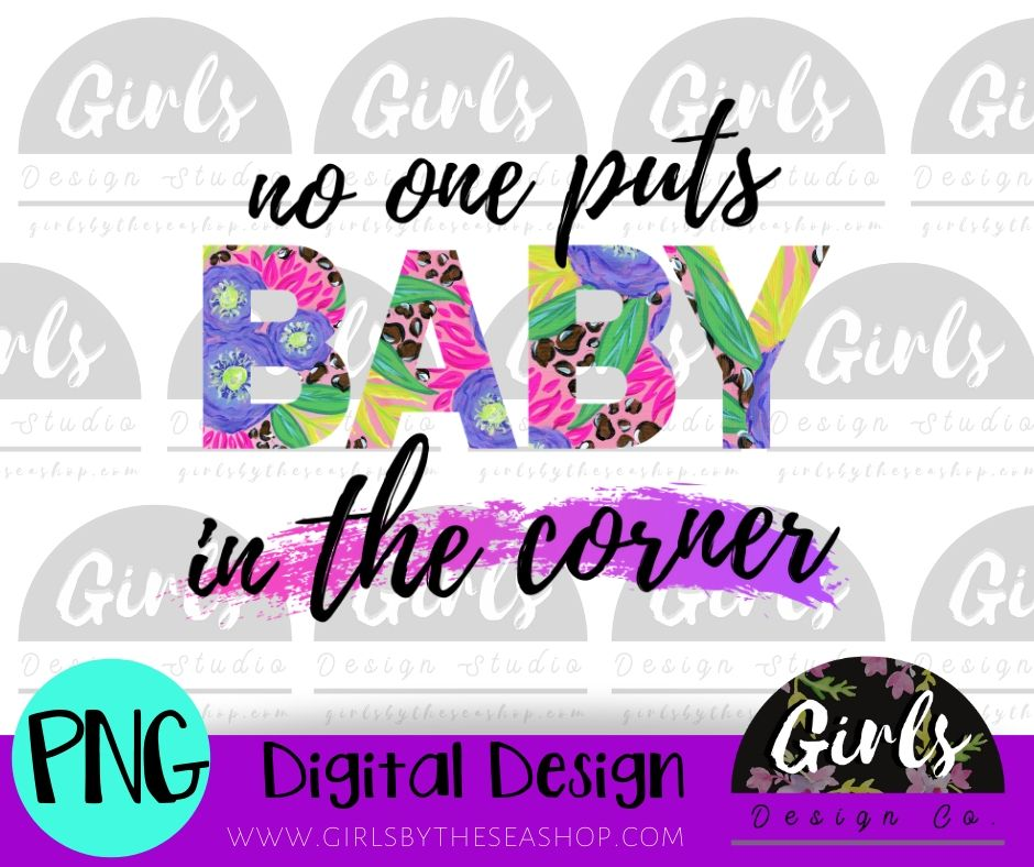 Baby In The Corner DIGITAL FILE-desser, Digital, Digital Design, Digital File, PNG, springdesign, Sublimation, SVG, Transfer-Shop-Wholesale-Womens-Boutique-Custom-Graphic-Tees-Branding-Gifts