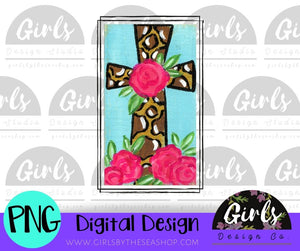 Cheetah Cross DIGITAL FILE-desser, Digital, Digital Design, Digital File, PNG, Sublimation, SVG, Transfer-Shop-Wholesale-Womens-Boutique-Custom-Graphic-Tees-Branding-Gifts