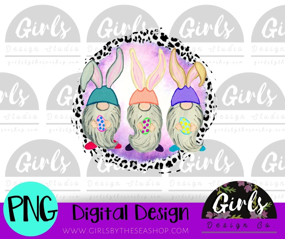 Cheetah Easter Egg Gnome DIGITAL FILE-desser, Digital, Digital Design, Digital File, PNG, Sublimation, SVG, Transfer-Shop-Wholesale-Womens-Boutique-Custom-Graphic-Tees-Branding-Gifts