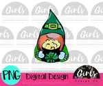 Leprechaun Gnome DIGITAL FILE-desser, Digital, Digital Design, Digital File, PNG, Sublimation, SVG, Transfer-Shop-Wholesale-Womens-Boutique-Custom-Graphic-Tees-Branding-Gifts