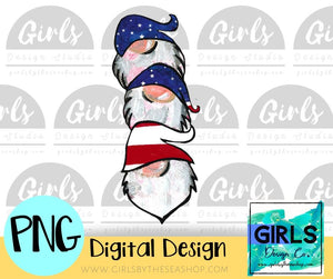 Flag Gnome Stack 2 DIGITAL FILE-#SummerDesign, Blue, desser, Digital, Digital Design, Digital File, Flag, Gnome, Hat, Patriotic, PNG, Stacked Gnomes, Sublimation, Summer, SVG, Transfer, USA-Shop-Wholesale-Womens-Boutique-Custom-Graphic-Tees-Branding-Gifts