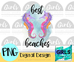 Best Beaches Seahorses DIGITAL FILE
