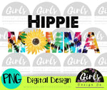Hippie Momma Tie Dye DIGITAL FILE-ADDMember, Digital Design, Digital File, hippe, Mom, momma, PNG, Sublimation, SummerDesign, sunflower, SVG, tie dye, Transfer, tye dye, wild child-Shop-Wholesale-Womens-Boutique-Custom-Graphic-Tees-Branding-Gifts
