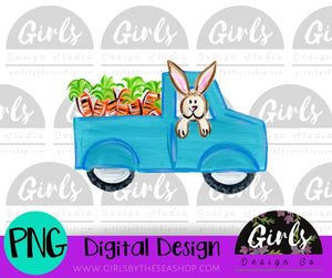 Carrot Truck ~ DIGITAL FILE-Carrot Truck, Carrots, Digital, Digital Design, Digital File, Easter Bunny, Farm Design, PNG, Sublimation, SVG, Transfer, Truck-Shop-Wholesale-Womens-Boutique-Custom-Graphic-Tees-Branding-Gifts
