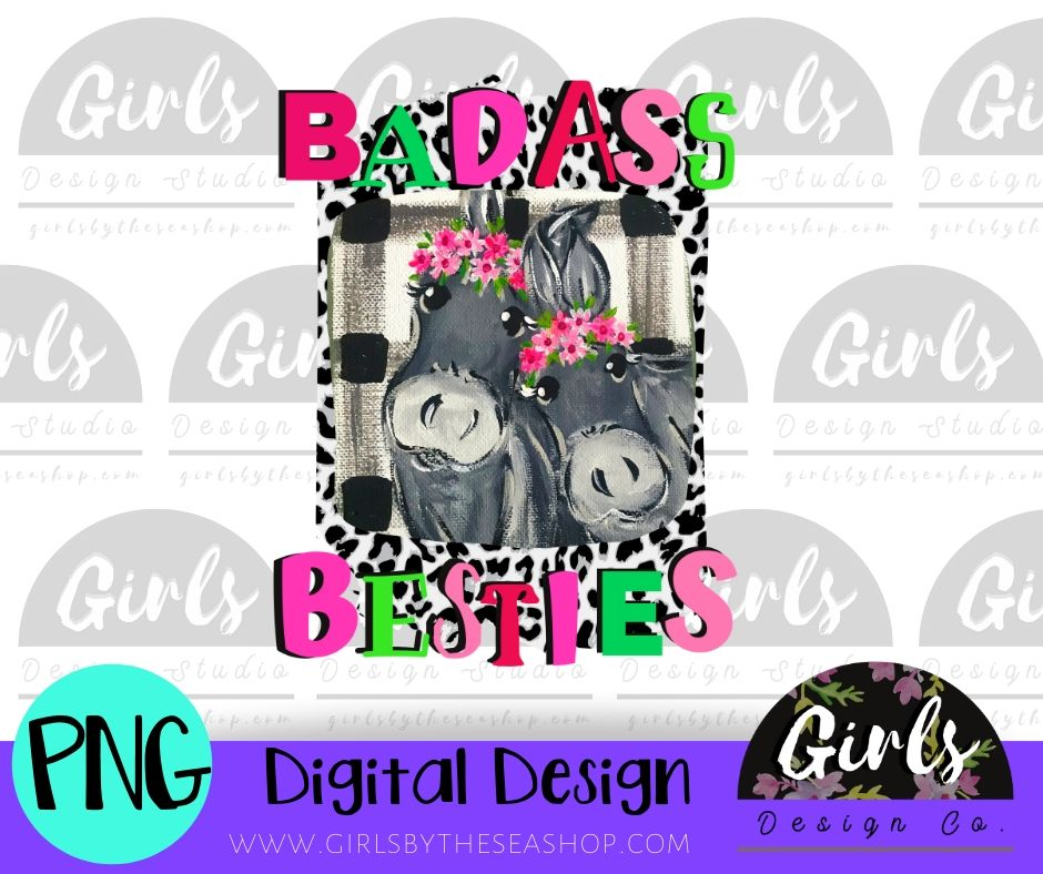 Badass Besties DIGITAL FILE