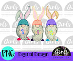 Easter Gnome DIGITAL FILE-desser, Digital, Digital Design, Digital File, easter, Easter Eggs, Gnome, PNG, Sublimation, SVG, Transfer-Shop-Wholesale-Womens-Boutique-Custom-Graphic-Tees-Branding-Gifts