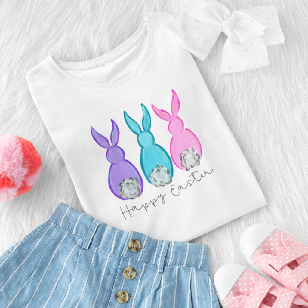 Wholesale :: Happy Easter Bunnies T-Shirt - Baby / Toddler / Youth