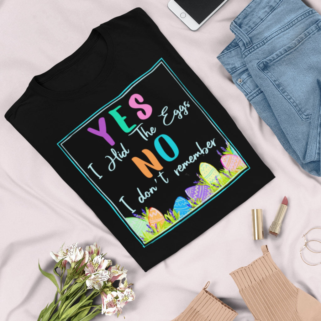 Yes I Hid The Eggs T-Shirt - Adults-eretailshirt, Gift-Shop-Wholesale-Womens-Boutique-Custom-Graphic-Tees-Branding-Gifts