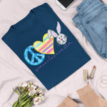 Peace Love Easter T-Shirt - Adults-eretailshirt, Gift-Shop-Wholesale-Womens-Boutique-Custom-Graphic-Tees-Branding-Gifts