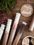 Wholesale : Single Serving Hot Cocoa Tubes-Sweets-Shop-Wholesale-Womens-Boutique-Custom-Graphic-Tees-Branding-Gifts