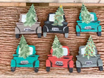 F.P. Holiday Truck Hand Painted Christmas Ornament-Shop-Wholesale-Womens-Boutique-Custom-Graphic-Tees-Branding-Gifts