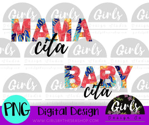 Mama Cita Baby Cita Tropical DIGITAL FILE