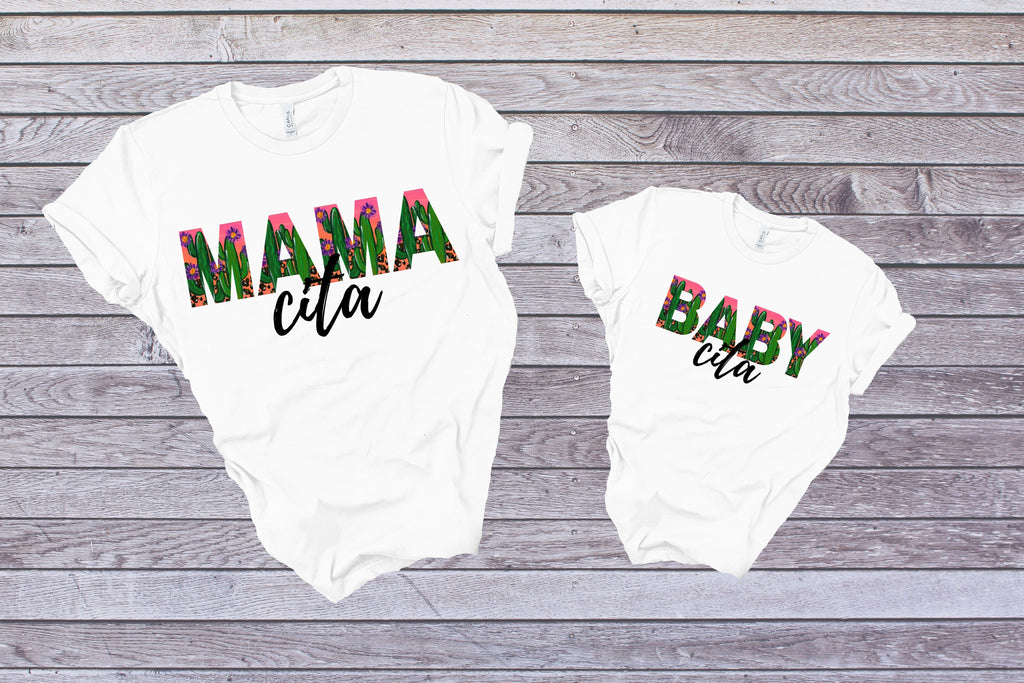 Mama Cita Cactus - Adult / Baby / Toddler / Youth-Shop-Wholesale-Womens-Boutique-Custom-Graphic-Tees-Branding-Gifts