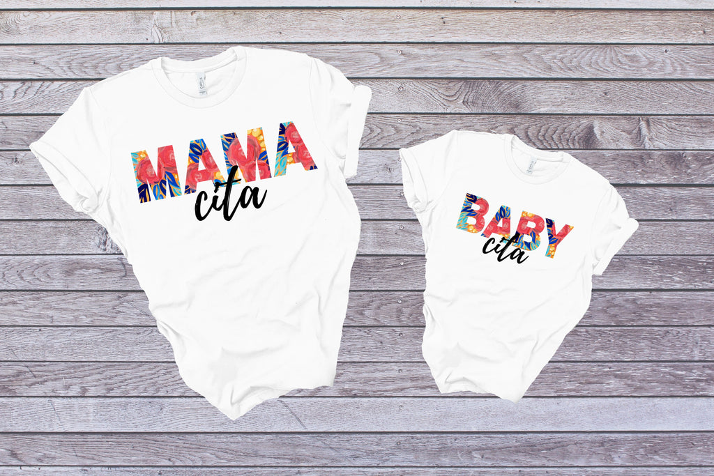 Mama Cita Orange Flowers - Adult / Baby / Toddler / Youth-Shop-Wholesale-Womens-Boutique-Custom-Graphic-Tees-Branding-Gifts