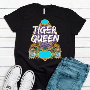S - Tiger Queen - Black