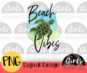 Beach Vibes DIGITAL FILE-#SummerDesign, ADDMember, Beach Vibes, Digital, Digital Design, Digital File, PNG, Quote, Sublimation, SVG, Transfer, Turtle-Shop-Wholesale-Womens-Boutique-Custom-Graphic-Tees-Branding-Gifts