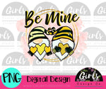 Bee Mine Gnomes DIGITAL FILE-desser, Digital, Digital Design, Digital File, PNG, Sublimation, SVG, Transfer-Shop-Wholesale-Womens-Boutique-Custom-Graphic-Tees-Branding-Gifts