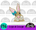 Bow Bunny DIGITAL FILE-Bow, Bunny, desser, Digital, Digital Design, Digital File, PNG, Sublimation, SVG, Transfer-Shop-Wholesale-Womens-Boutique-Custom-Graphic-Tees-Branding-Gifts