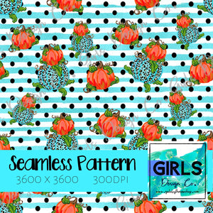 Cheetah Pumpkins with Blue Glitter Stripes SEAMLESS FILE-Cheetah, Cheetah Pumpkins, Digital, Digital Design, Digital File, Digital Paper, Fabric, Fall, Orange, Pumpkins, Seamless, Seamlessdesign, Sublimation, summer, tie dye-Shop-Wholesale-Womens-Boutique-Custom-Graphic-Tees-Branding-Gifts