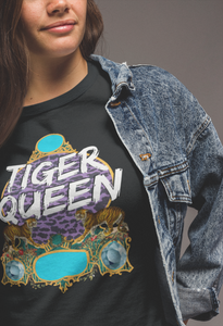 Wholesale :: Tiger Queen - Black-Shop-Wholesale-Womens-Boutique-Custom-Graphic-Tees-Branding-Gifts