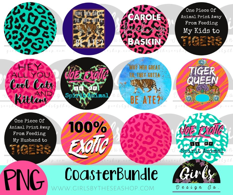 Tiger Bundle ~ 44 DIGITAL FILES