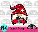 Firefighter Love Gnome DIGITAL FILE-desser, Digital, Digital Design, Digital File, PNG, Sublimation, SVG, Transfer-Shop-Wholesale-Womens-Boutique-Custom-Graphic-Tees-Branding-Gifts