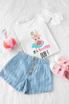 I'm a Bunny Duh! PINK T-Shirt - Baby / Toddler / Youth