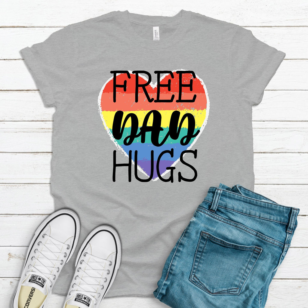 WHOLESALE :: Free Dad Hugs - Gray