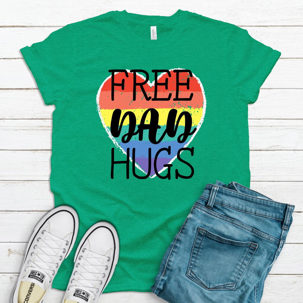 WHOLESALE :: Free Dad Hugs - Kelly Green