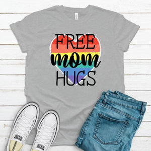 WHOLESALE :: Free Mom Hugs - Athletic Gray-Shop-Wholesale-Womens-Boutique-Custom-Graphic-Tees-Branding-Gifts