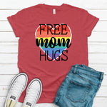 WHOLESALE :: Free Mom Hugs - Heather Red
