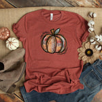 Tye Die Pumpkin ~ Mauve ~ Adult T-Shirt-Shop-Wholesale-Womens-Boutique-Custom-Graphic-Tees-Branding-Gifts