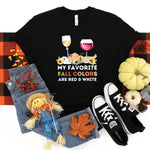 Fall Colors ~ Black ~ Adult T-Shirt-Shop-Wholesale-Womens-Boutique-Custom-Graphic-Tees-Branding-Gifts