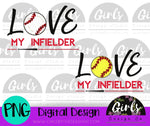 Love My In Fielder DIGITAL FILE-Baseball, Digital, Digital Design, Digital File, Outfielder, PNG, Softball, Sublimation, SVG, Transfer-Shop-Wholesale-Womens-Boutique-Custom-Graphic-Tees-Branding-Gifts