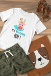 I'm a Bunny Duh! Teal T-Shirt - Baby / Toddler / Youth-eretailshirt, Gift-Shop-Wholesale-Womens-Boutique-Custom-Graphic-Tees-Branding-Gifts
