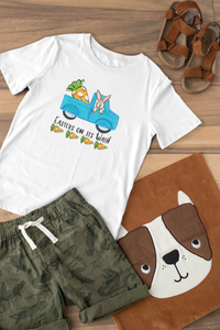 Easters On Its Way Carrot Truck  T-Shirt - Baby / Toddler / Youth