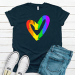 WHOLESALE :: Pride Heart - Navy