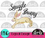 Snuggle Bunny DIGITAL FILE-desser, Digital, Digital Design, Digital File, PNG, Sublimation, SVG, Transfer-Shop-Wholesale-Womens-Boutique-Custom-Graphic-Tees-Branding-Gifts