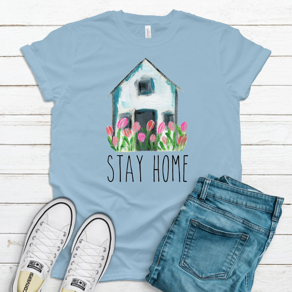 Stay Home T-Shirt - Adults