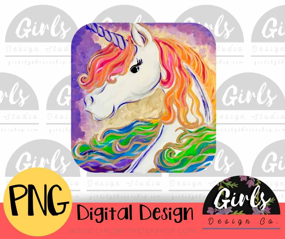 Unicorn DIGITAL FILE-#SummerDesign, Digital, Digital Design, Digital File, Frame, PNG, Sublimation, Summer, SVG, Transfer, unicorn-Shop-Wholesale-Womens-Boutique-Custom-Graphic-Tees-Branding-Gifts