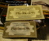 Harry Potter Platform 9 and 3/4 Movie Accurate Prop Train Ticket To Hogwarts Collectible - cosplayboss