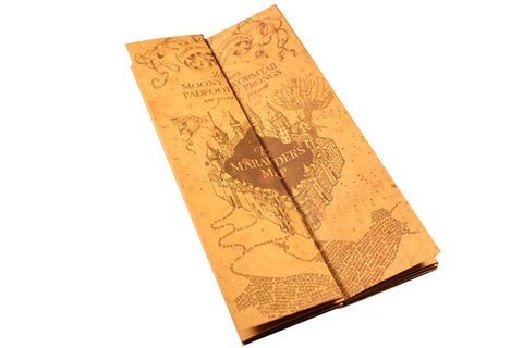Harry Potter Movie Prop The Marauder's Map Prop Collectible Collection - cosplayboss