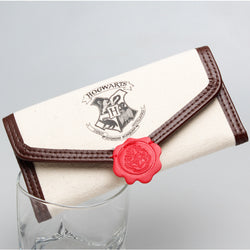 Harry Potter Hogwarts School of Acceptance Letter Inspired Flap Wallet Women Ladies - cosplayboss