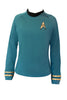 Star Trek Costume Spock TOS Uniform Classic The Original Series Shirt - cosplayboss