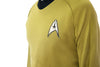 Star Trek Costume Captain Kirk TOS Uniform Classic The Original Series Shirt - cosplayboss